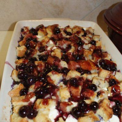Homemade Blueberry Strata Recipe