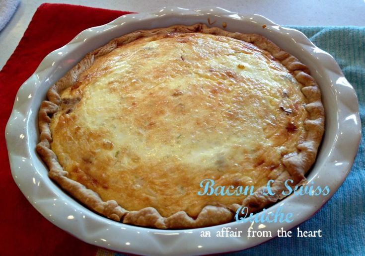 Bacon and Swiss Quiche
