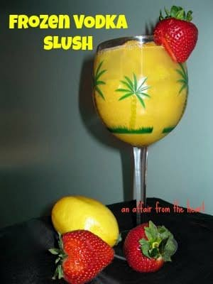 Frozen Vodka Slush