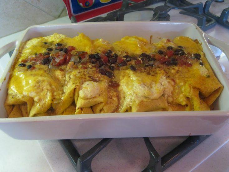 That mystery dish we named Chicken Fajita Bake