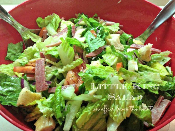 Little King Salad - It's like a Hoagie in a Bowl!