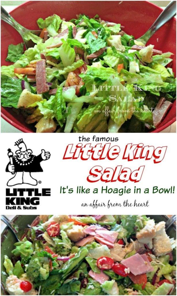 Little King Salad An Affair from the Heart