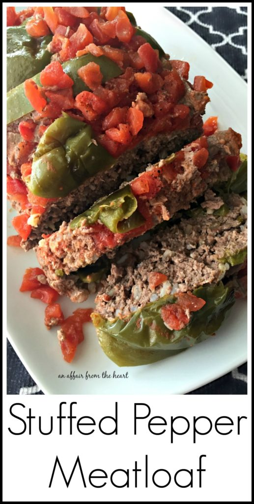 Stuffed Pepper Meatloaf - An Affair from the Heart