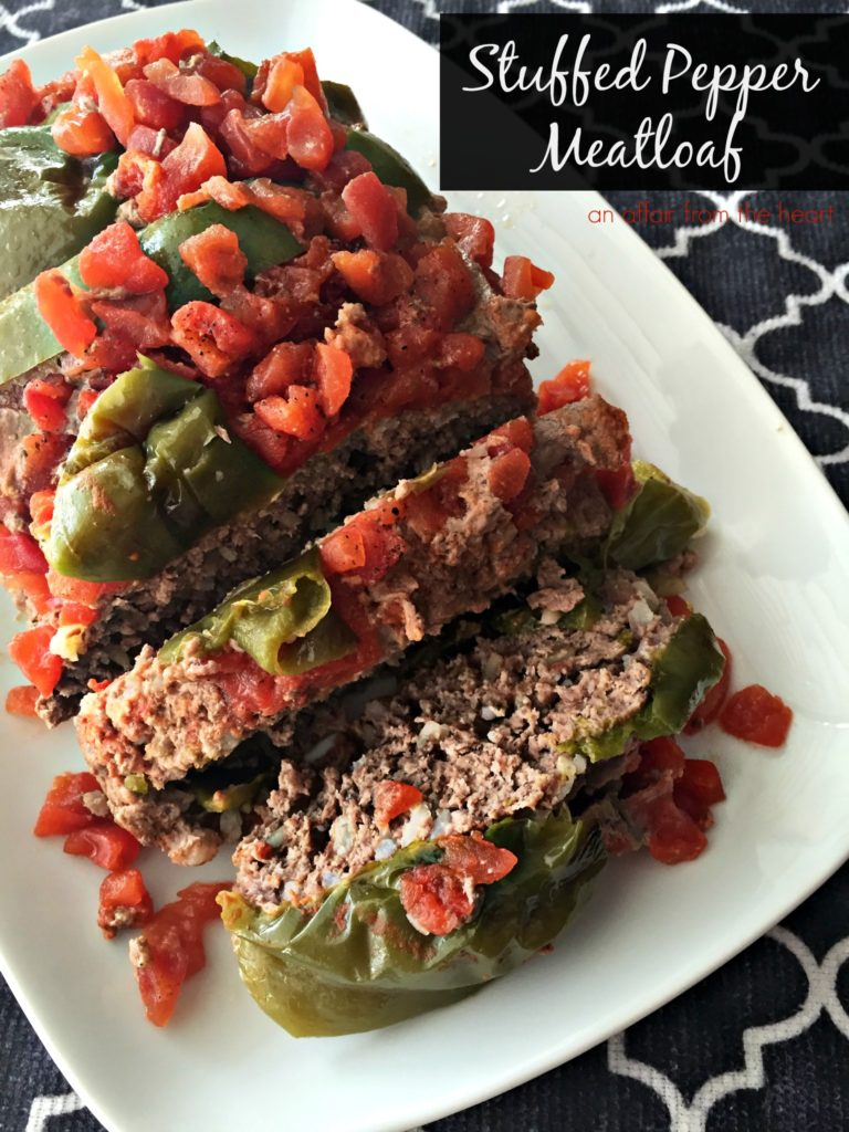 Stuffed Pepper Meatloaf An Affair From The Heart