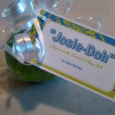 """Homemade Play-Doh, but we call it """"Josie-Doh"""""""