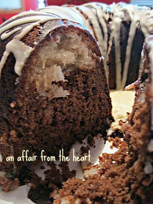 chocolate wedding cake from box mix chocolate macaroon bundt cake an affair from the 12760