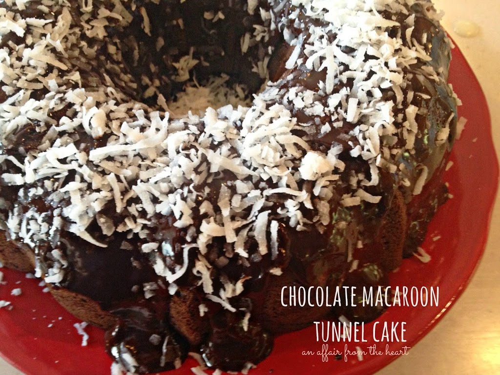 Pillsbury Chocolate Coconut Bundt Cake Mix