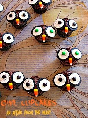 Here's Peeking at you…OWL Cupcakes