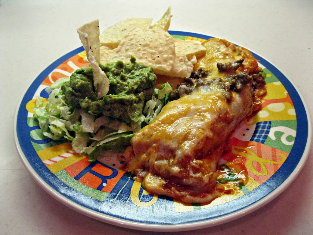 Easy Cheesy Beef Enchiladas | An Affair from the Heart