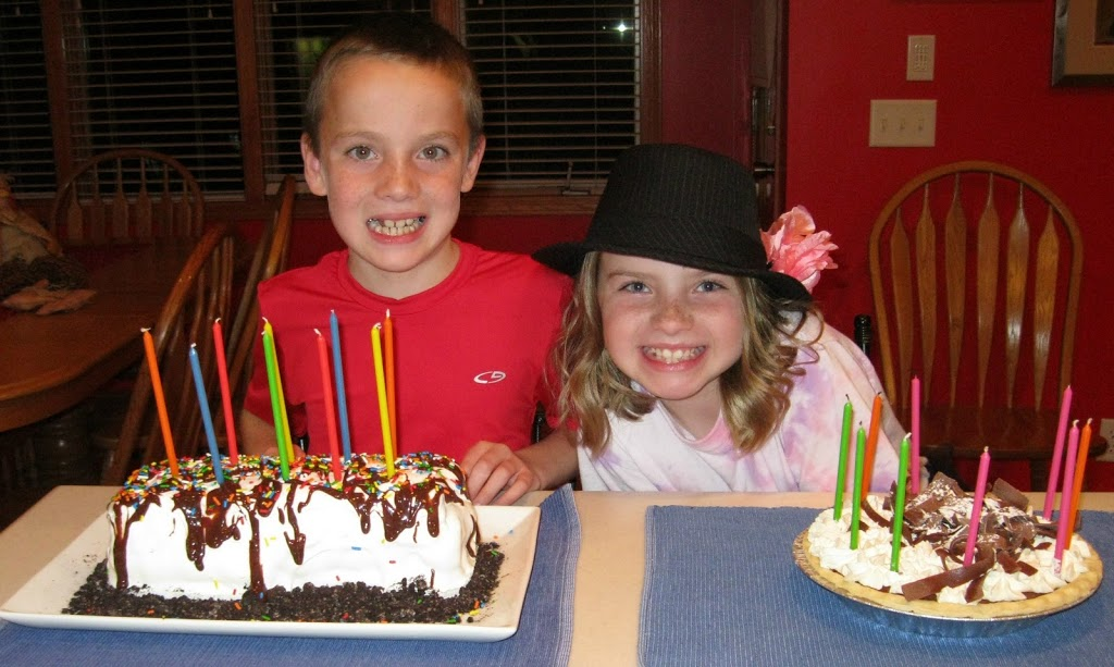 Happy 9th Birthday To Our Twins Tie Dye Cupcakes And Ice Cream