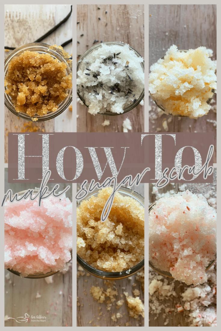 Basic Sugar Scrub Recipe