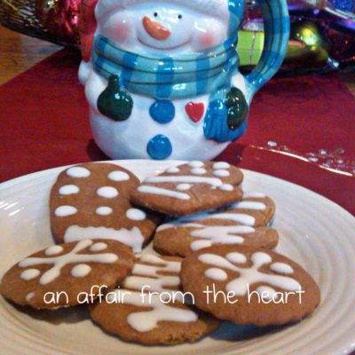 Karen's Ginger Bread Cookie Recipe