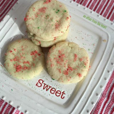 Old Fashioned Sugar Cookies {Aunt Vern's Sugar Cookies}