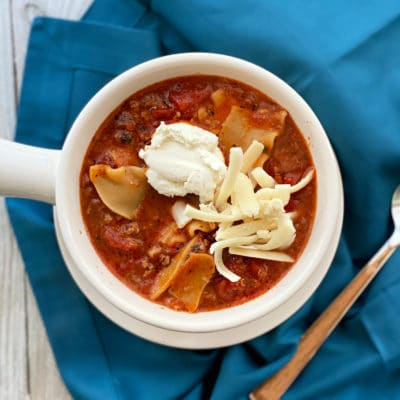 Easiest Lasagna Soup Recipe + Video