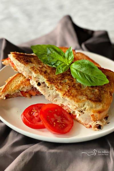 Grilled Turkey & Havarti Sandwiches