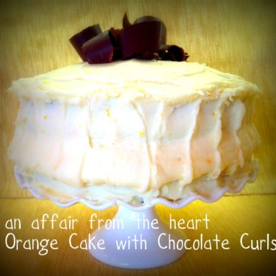 Fresh Orange Layer Cake