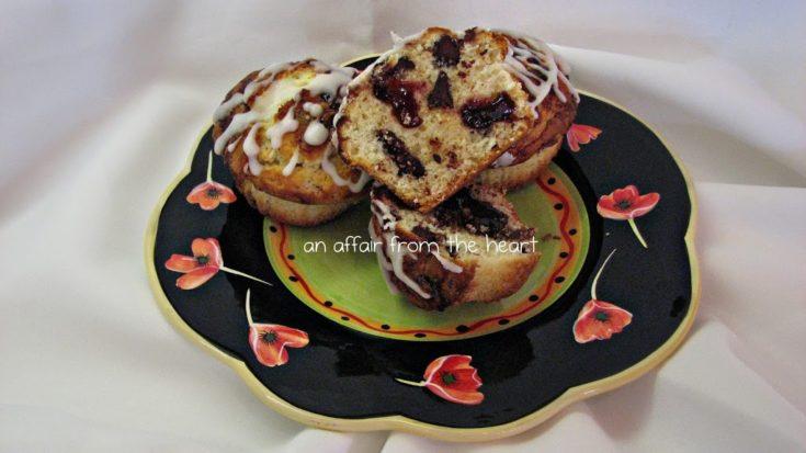Chocolate Chip Raspberry Muffins