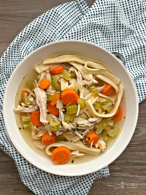 Mom's from Scratch Chicken Noodle Soup