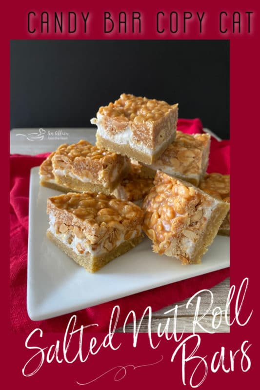 Salted Nut Roll Bars Pinterest Pin