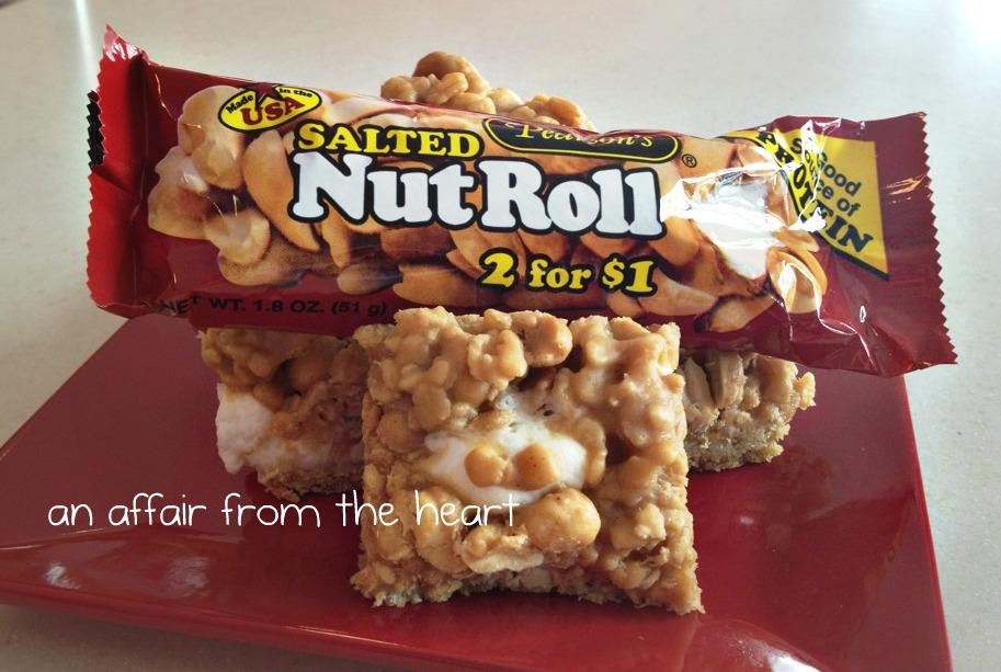 Salted Nutroll Bars