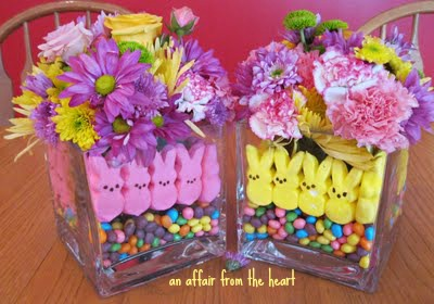 How To: Make a Peep Centerpiece for Easter