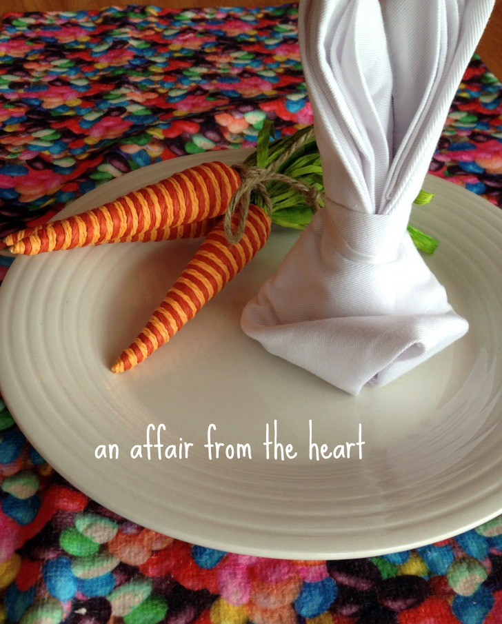 How to Fold Napkins like Bunnies