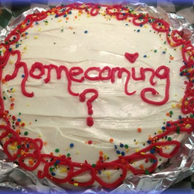 """It would be SWEET if you would go to HOMECOMING with me"" Cookie."