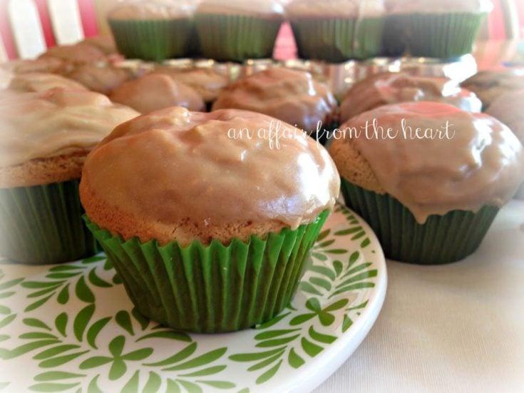 Spiced Glazed Muffins