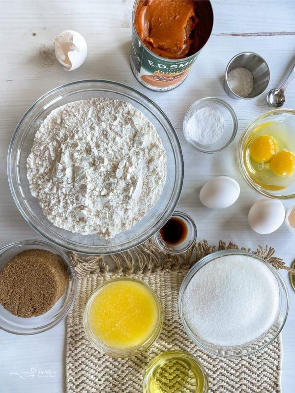 frosting ingredients for pumpkin bread