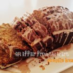 Pumpkin Bread with Spice Glaze