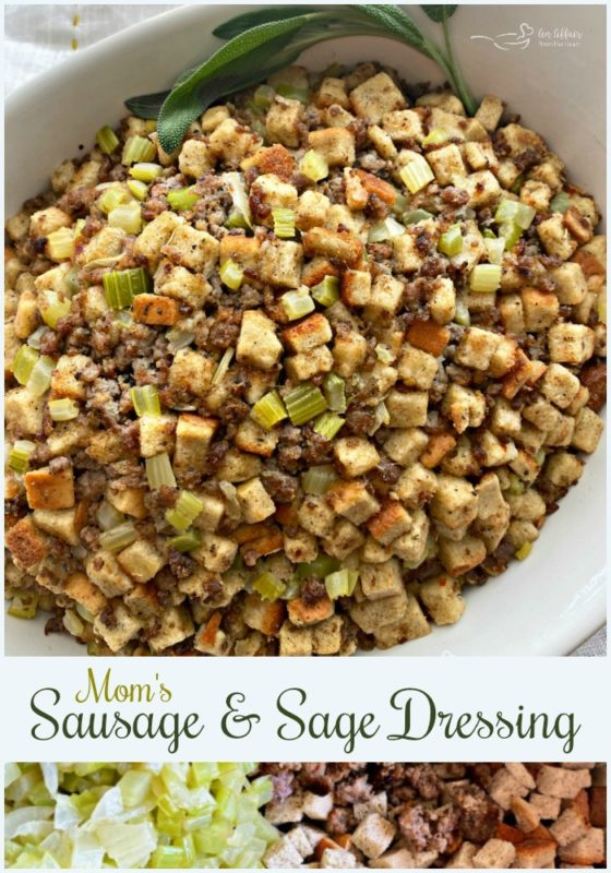 Mom's Sausage & Sage Dressing