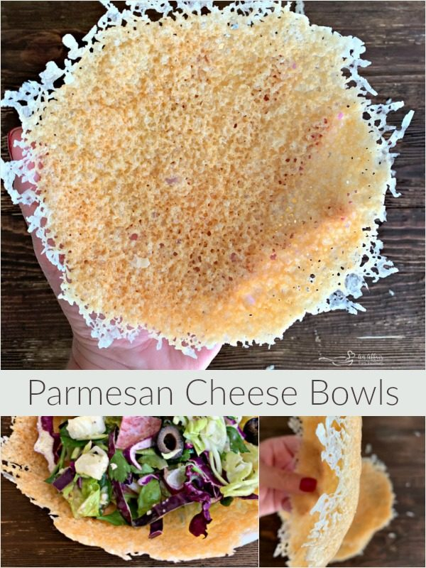 Parmesan Cheese Bowls - An Affair from the Heart