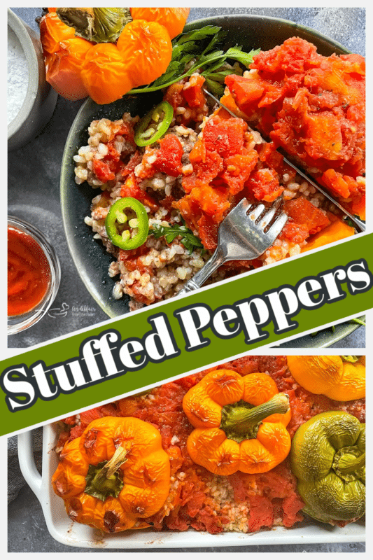 Graphic for stuffed peppers