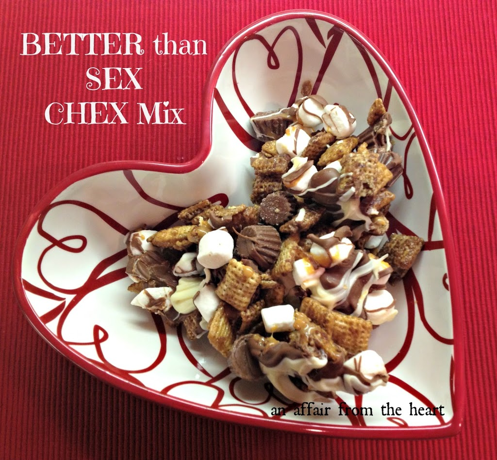 Better Than Sex Chex Mix