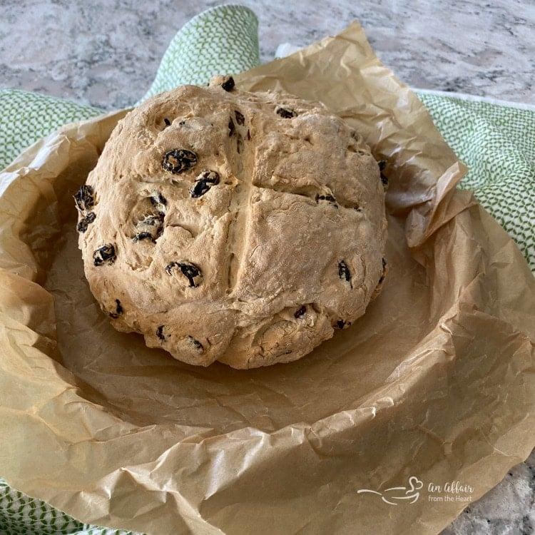 Irish Soda Bread baked