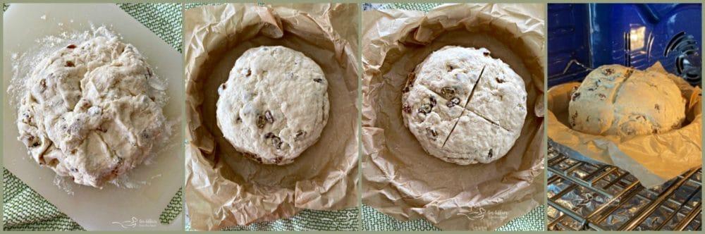 Irish Soda Bread Prep Collage 2