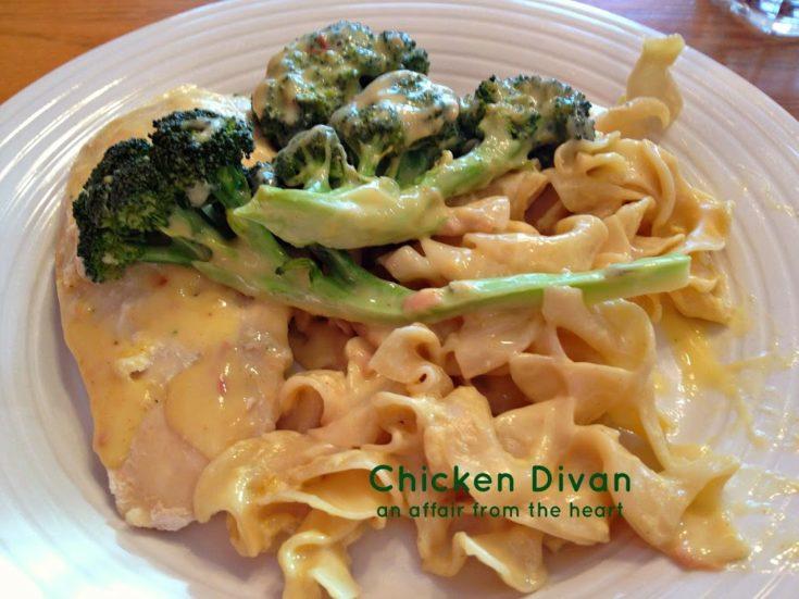 Chicken Divan (Chicken with Broccoli)