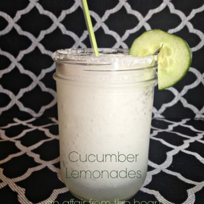 Cucumber Lemonades