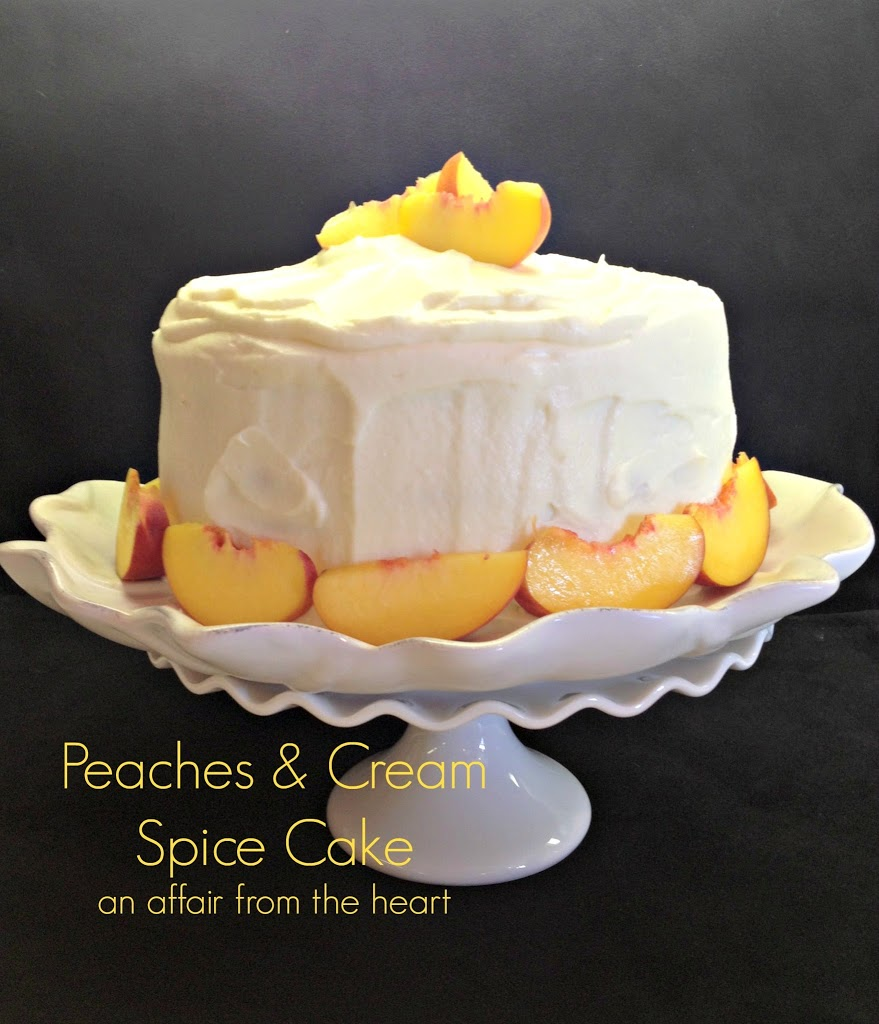 Whipped Cream Frosting With Peaches Recipes — Dishmaps