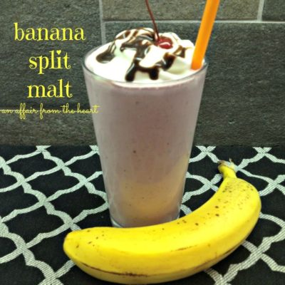 Banana Split Malt