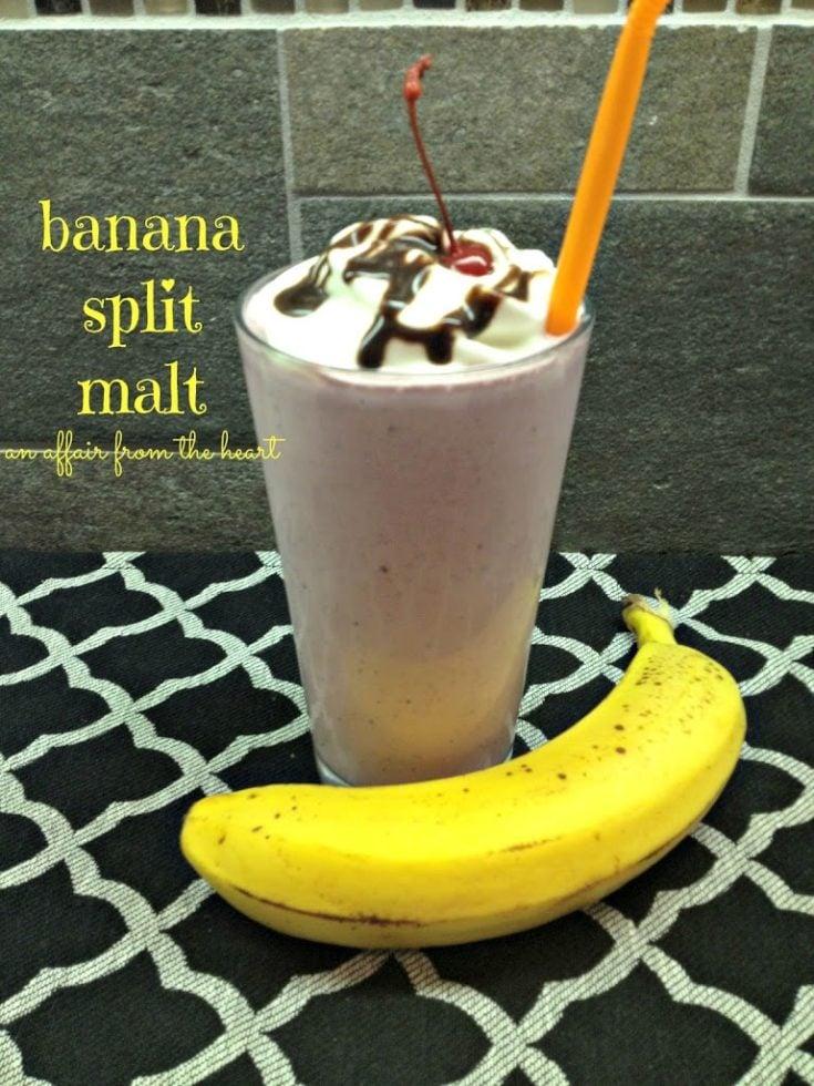 Banana Split Malt