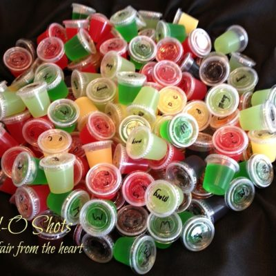 Jell-o Shots — 8 Different Flavors!!
