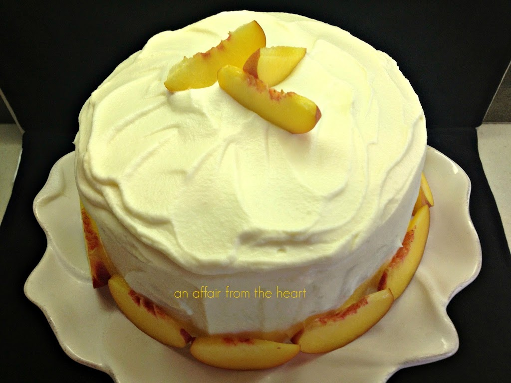 whipped cream wild peach poppies whip cream whipped cream frosting ...