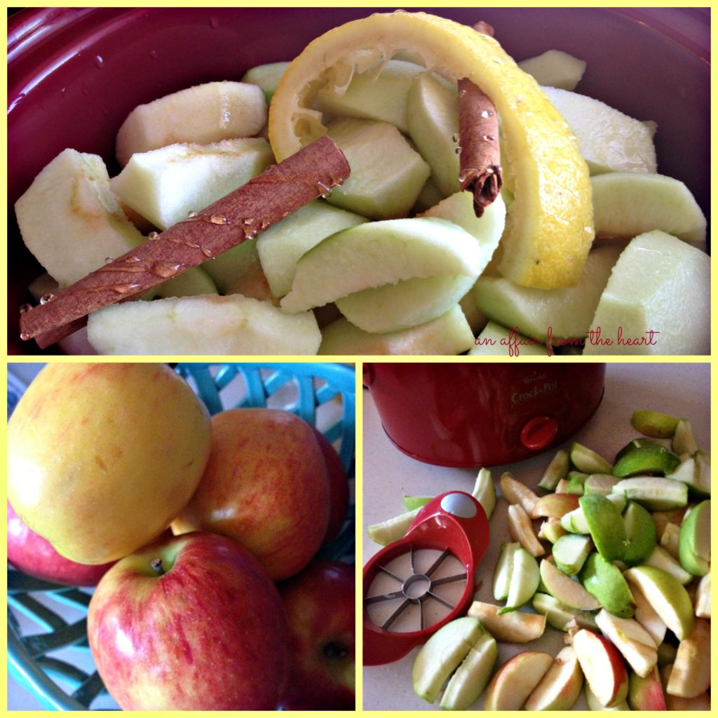 crock pot cinnamon apple sauce