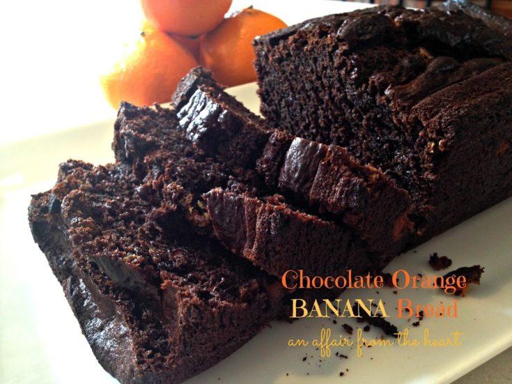 Chocolate Orange Banana Bread