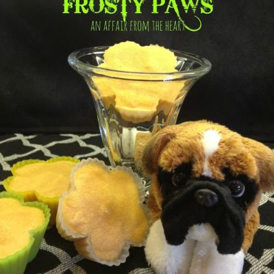 "Homemade ""Frosty Paws"" – 'Ice Cream' for your dog"