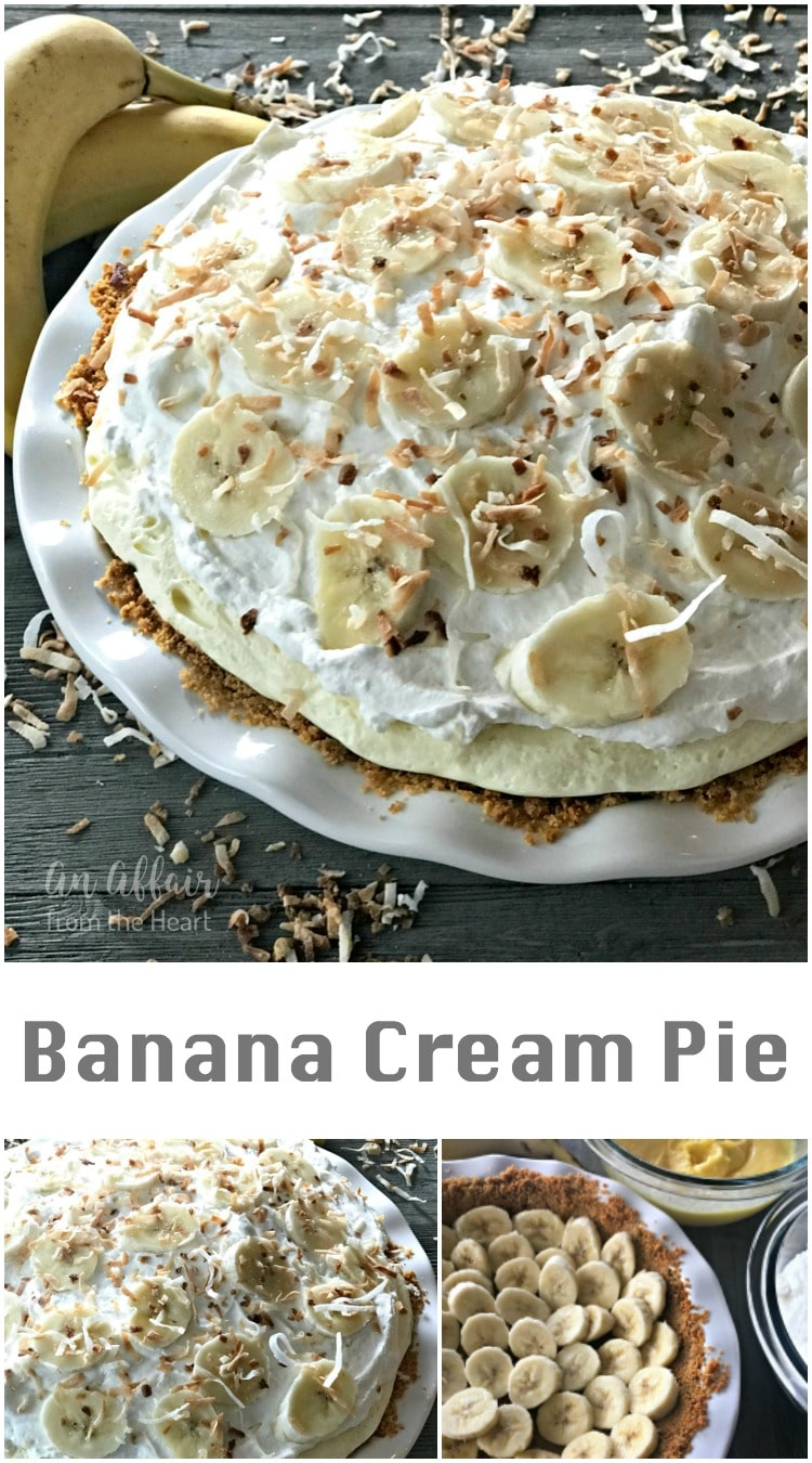Banana Cream Pie - An Affair from the Heart