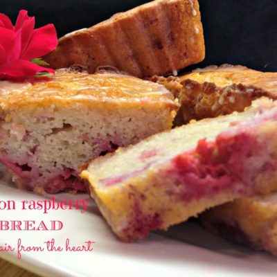 Lemon Raspberry Bread