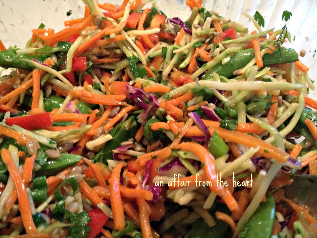 Asian Coleslaw Recipe — Dishmaps
