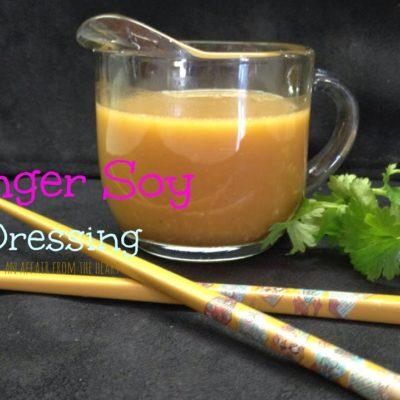 Ginger Soy Dressing